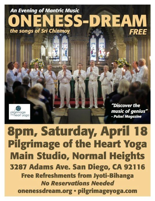 San Diego Oneness-Dream Poster_April25